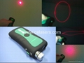 100mw 660nm 3 in 1 red laser pointer/ red disco laser/ red laser free shipping