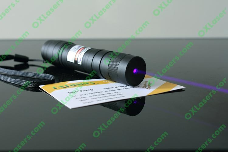 200mw focusable violet blue laser torch pointer light cigarettes/ FREE SHIPPING  2