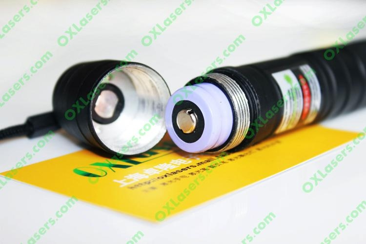 100mw protable green laser pointer/focus adjustable green laser burn matches 3