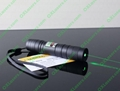100mw protable green laser pointer/focus adjustable green laser burn matches
