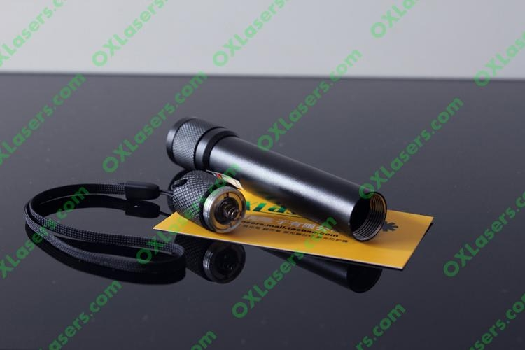 200mw flashlight shaped red laser pointer with focusable lens light cigarttes  4