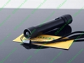 200mw flashlight shaped red laser pointer with focusable lens light cigarttes  5