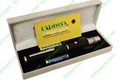 50mw 532nm green laser star pointer pen with box and battery free shipping