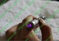 5mw 405nm violet blue purple laser pointer/purple laser pen Free Shipping 5