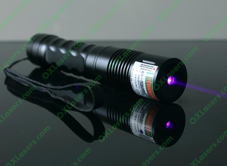 200mw 405nm Focusable Violet Blue Laser Pointer Uv Purple