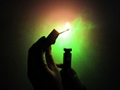 200mw green laser pointer focusable flashlight shaped light maches/free shipping 5