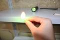 200mW High power UltraFire WF-501B Flashlight Green Laser Pointer burn matches 3