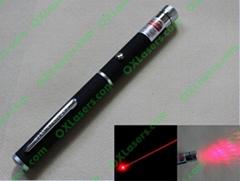 100mw 650nm red laser pointer pen with star cap/laser kaleidoscope FREE SHIPPING