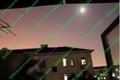 100mW 405nm focusable purple/violet blue laser pointer torch burn matches