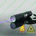 50mw 405nm blue violet laser pointer/focusable mini purpel laser  burn matches