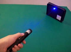 445-450nm 1000mw focusable blue laser pointer with keylock + light cigars