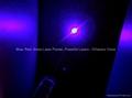 30mw 5in1 kaleidoscopic blue violet laser pointer pen/ purple laser free shippin