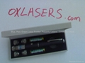 30mw 5in1 kaleidoscopic blue violet laser pointer pen/ purple laser free shippin