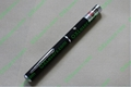 50mw 532nm kaleidoscopic green laser pointer pen with star cap + free shipping