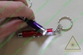 5mw 2in1 led red laser pointer/ keychain laser pointer free shipping