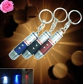 wholesale 3in1 keychain 5mw red laser pointer+white led + uv light FREE SHIPPING