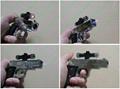 New Gun lighter laser ( Cigar lighter +5mw  red laser pointer) free shipping