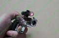 New Gun lighter laser ( Cigar lighter +5mw  red laser pointer) free shipping 5