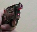 2 in 1 gun lighter with a red laser