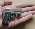 Super MINI Gun Pistol style lighter with 5mw red laser pointer FREE SHIPPING 1