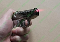 Gun Lighters with 5mw 650nm red laser