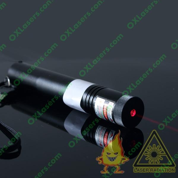 200mw 650nm Focusable Red Laser Pointer Flashlight Safety