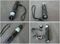 445nm 1000mw focusable burning blue laser pointer with star cap and key lock 2