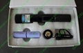 445nm 1000mw focusable burning blue laser pointer with star cap and key lock 3