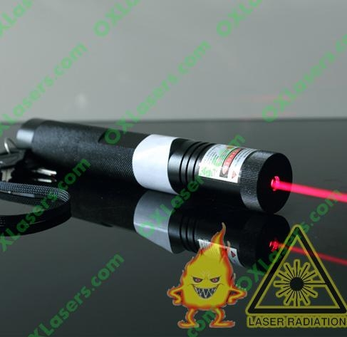 200mw 650nm focusable red laser pointer burning torch with keylock free shipping 1