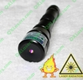 150mw high powered focusable burning blue violet laser pointer waterproof