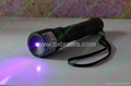 100mw 405nm focusable purple uv laser pointer torch burn matches free shipping 3