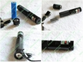 50mw focusable green laser pointer TORCH KIT with lock PoP balloon free shipping 3