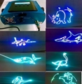 NEW RGB stage laser light show /DIY full color animation laser projector light