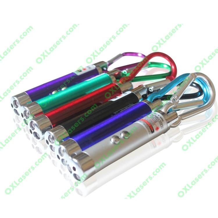 Mini 5mw 3in1 Red Laser Pointer Red Laser Uv Light Led