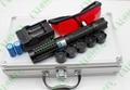 5in1 445nm 1w/1000mw metal cased focusable blue laser pointer 2
