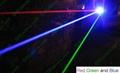 OXLasers RGB301 1000MW blue+200mw red+100mw green 3 in 1 burning  laser pointer 4
