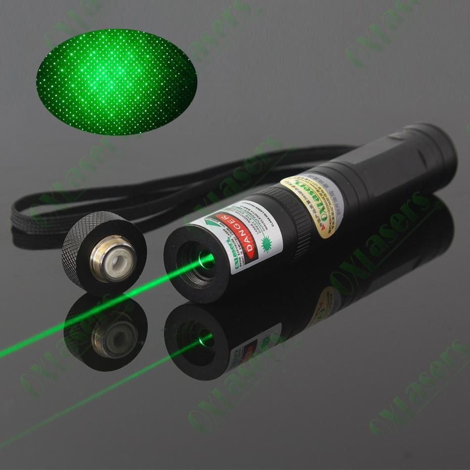 Oxlasers Ox G1s 100mw Fixed Focus Green Laser Torch With
