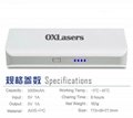 OXLasers OX-20 5200mah power bank for phones and tablet pc with laser pointer