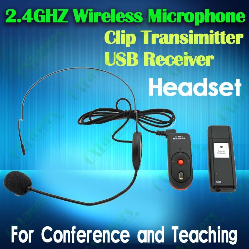 Oxlasers 2 4ghz Headset Microphone With Usb Bluetooth
