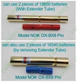OXLasers OX-BX8 Pro. full brass 4000mw 4W high powered Blue Lazer Pointer laser