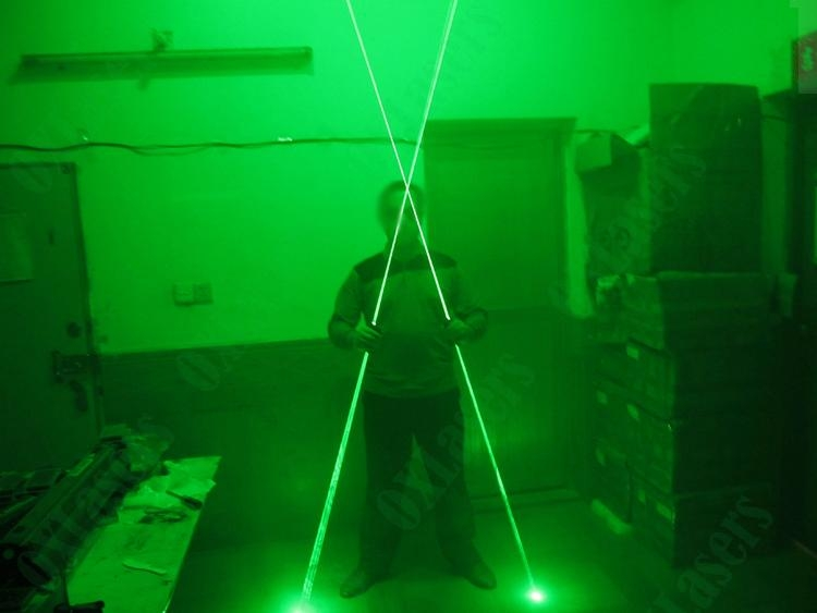 OXLasers NEW dual head green laser pointer green laser sword for dj party club  4