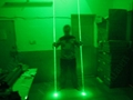 OXLasers NEW dual head green laser pointer laser sword for dj party dance laser  5