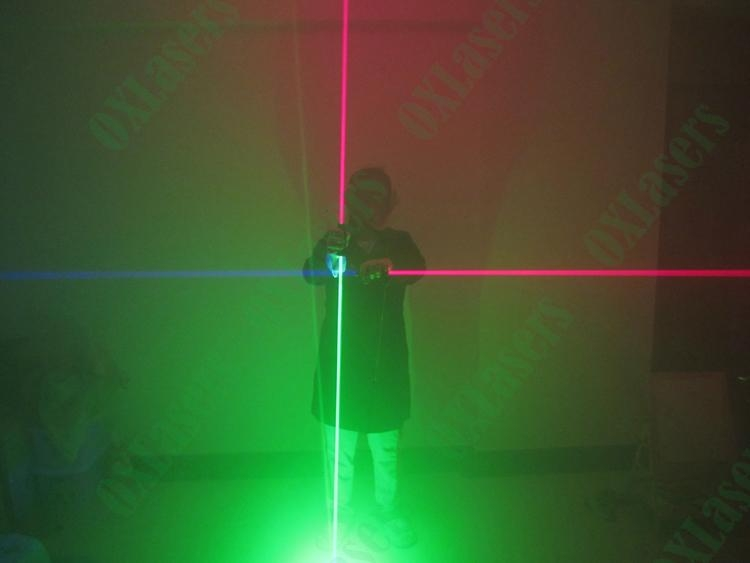 OXLasers NEW dual head green laser pointer laser sword for dj party dance laser  8