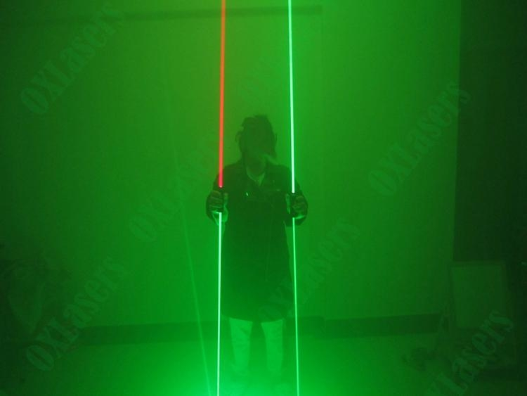 OXLasers NEW dual head green laser pointer laser sword for dj party dance laser  9