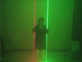 OXLasers NEW dual head green laser pointer laser sword for dj party dance laser