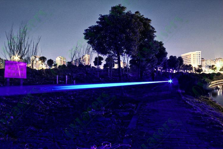 OXLasers OX-B40 445nm 450nm 3000m 3kmW focusable burning blue laser pointer star 4
