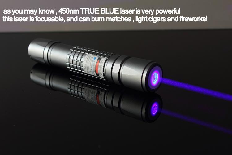 OXLasers OX-B40 445nm 450nm 3000m 3kmW focusable burning blue laser pointer star 9