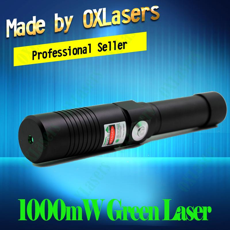 OXLasers OX-GX9 520nm  1000mW Focusable Green laser pointer