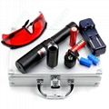 OXLasers OX-BX9 5000mW Burning Laser Torch 445nm Focusable blue laser pointer   5