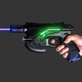 oxlasers 445nm burning 3W blue laser gun laser pointer gun laser focusable  1